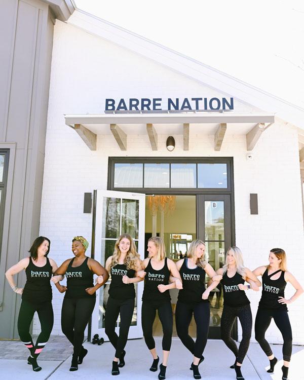 Barre Nation Instructors